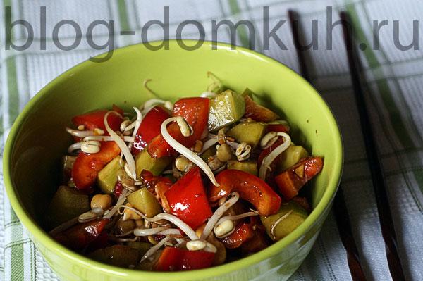 Домашний салат по-вьетнамски