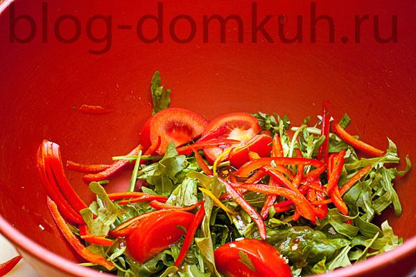 смешивание-овощи