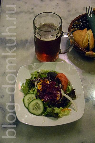 ностос-салат-пиво