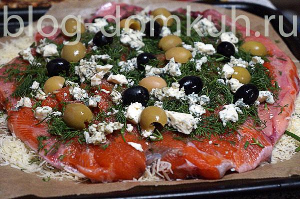 форель-оливки