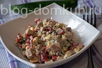 салат-ветчина-перец-мини