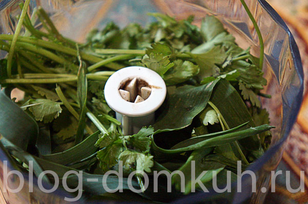 зелень-блендер