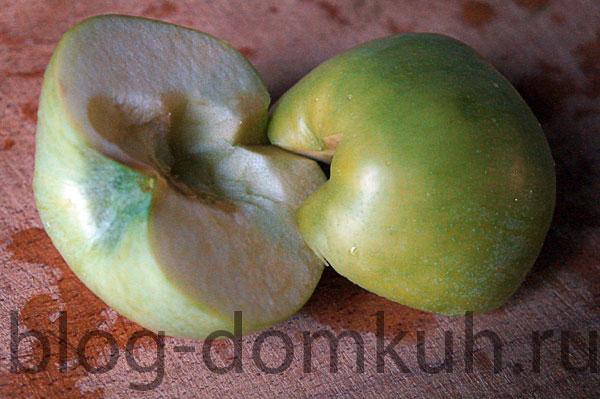яблоко-зеленое