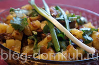 салат-картошка-грибы-мини