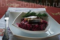 салат-свекла-селедка-мини