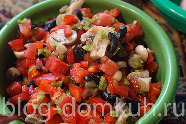 овощи-оливки-грибы