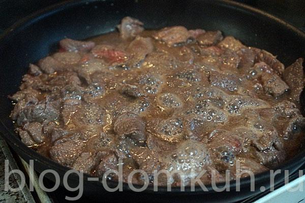 мясо-сковорода