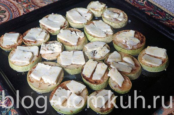 кабачки-сыр