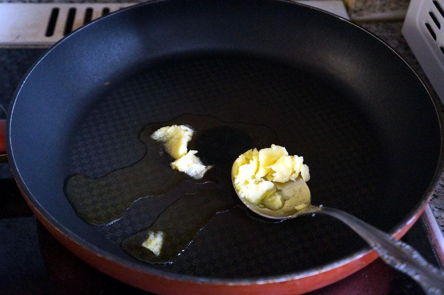 сковорода-масло