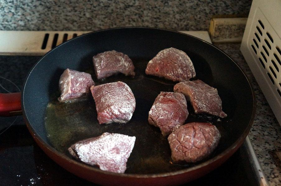 сковорода-мясо