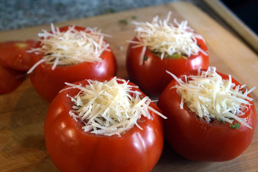 помидоры-сыр