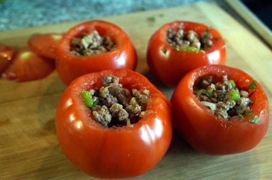 помидоры-фарш