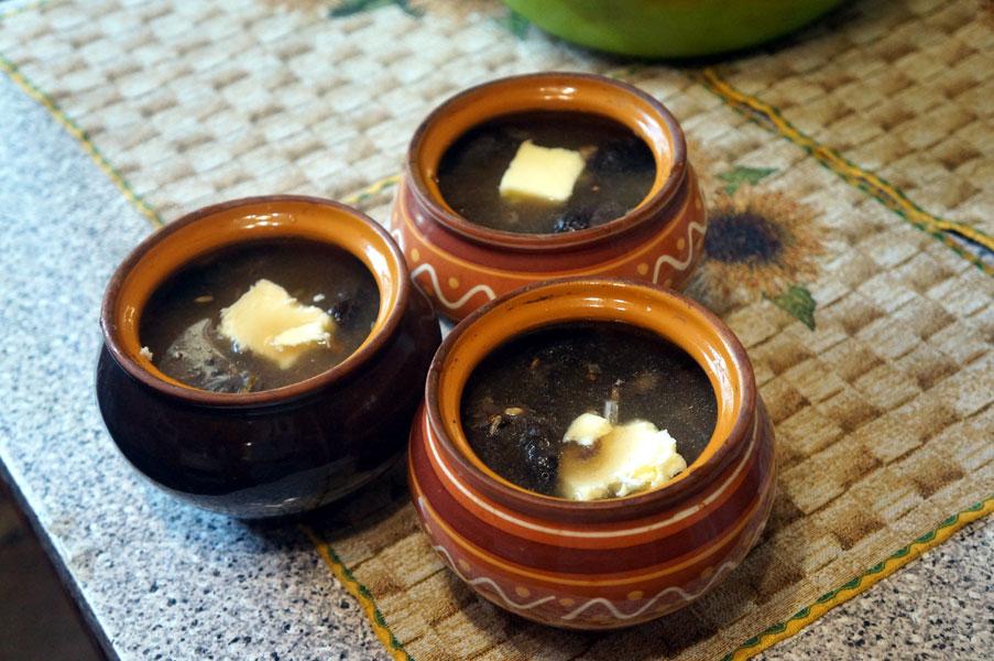 горшки-масло