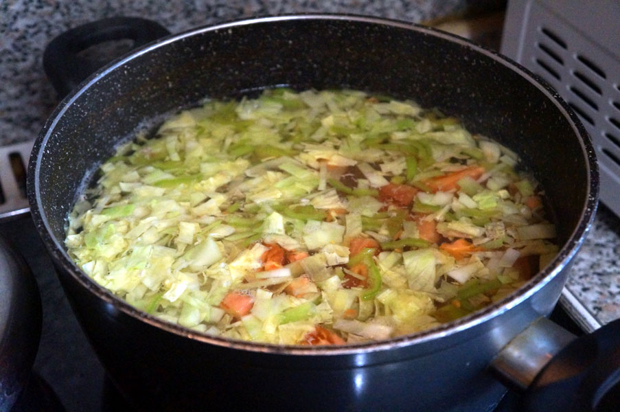 бульон-овощи