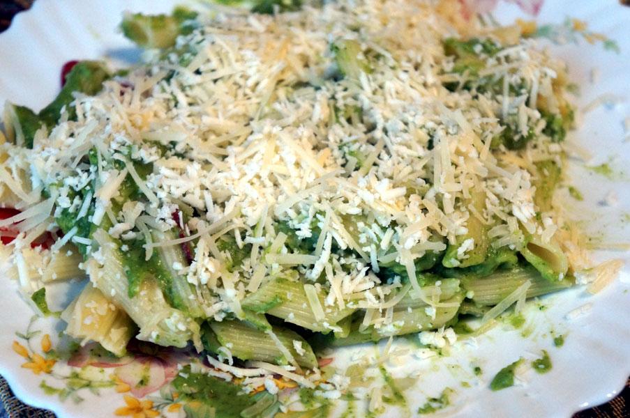 паста-брокколи-сыр