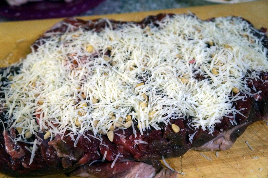 баранина-сыр