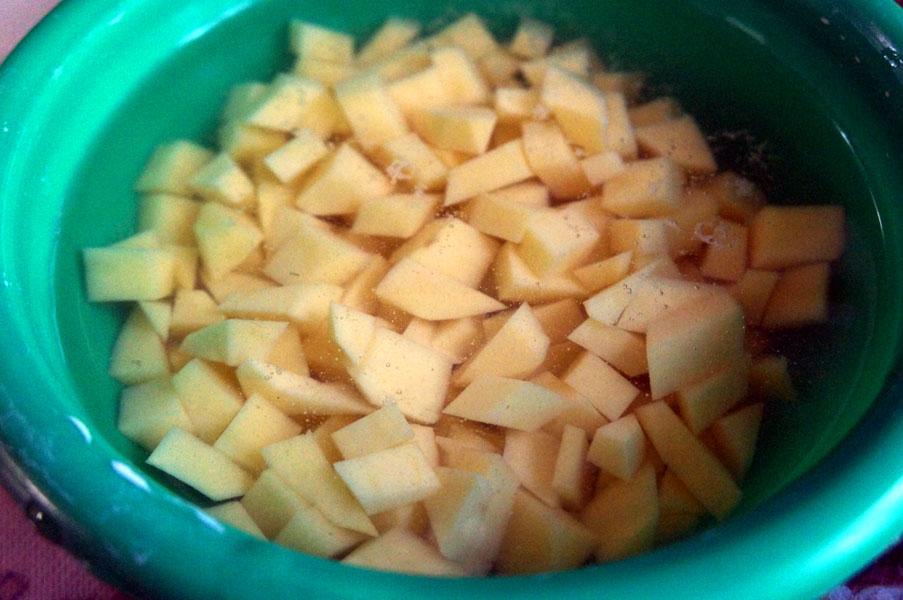 картошка-кубик