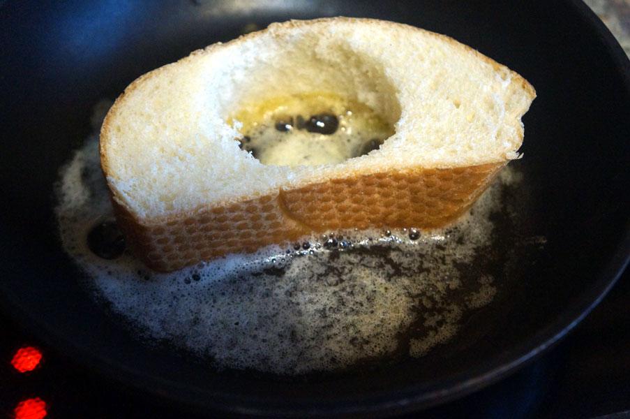 батон-сковорода