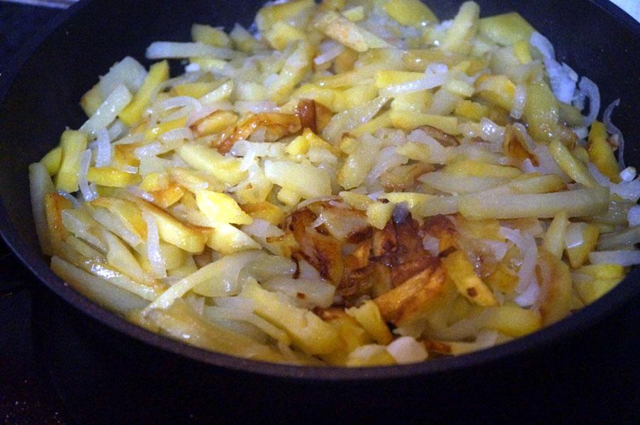картошка-жарится
