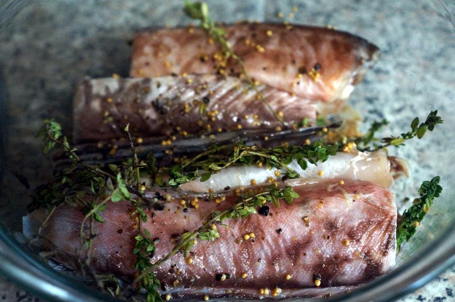 рыба-маринад